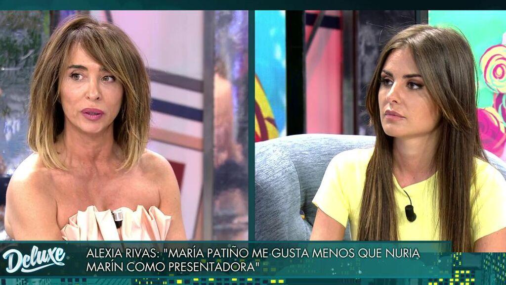 María Patiño y Alexia Rivas, cara a cara