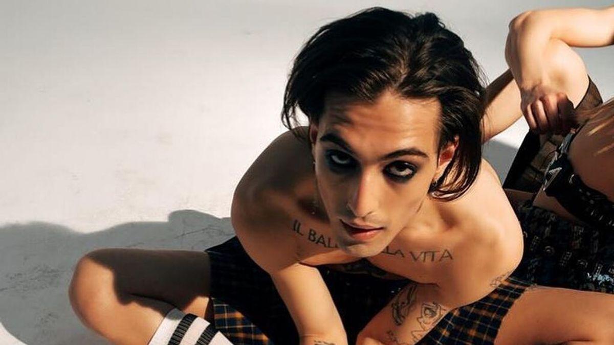 El significado de algunos tatuajes de Damiano David: desde un homenaje a Guitarricadelafuente hasta el más sexy