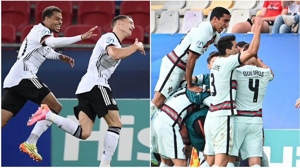 Portugal - Alemania: la final del Europeo Sub21