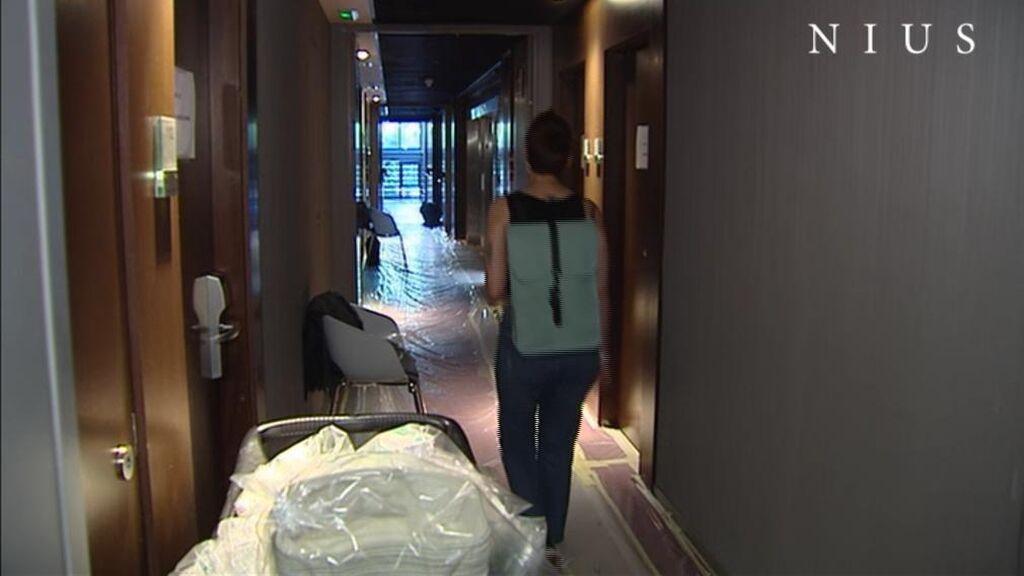Cierra el hotel medicalizado de Madrid.