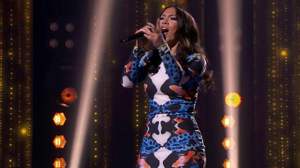 La actuación de Andrea en Top Star