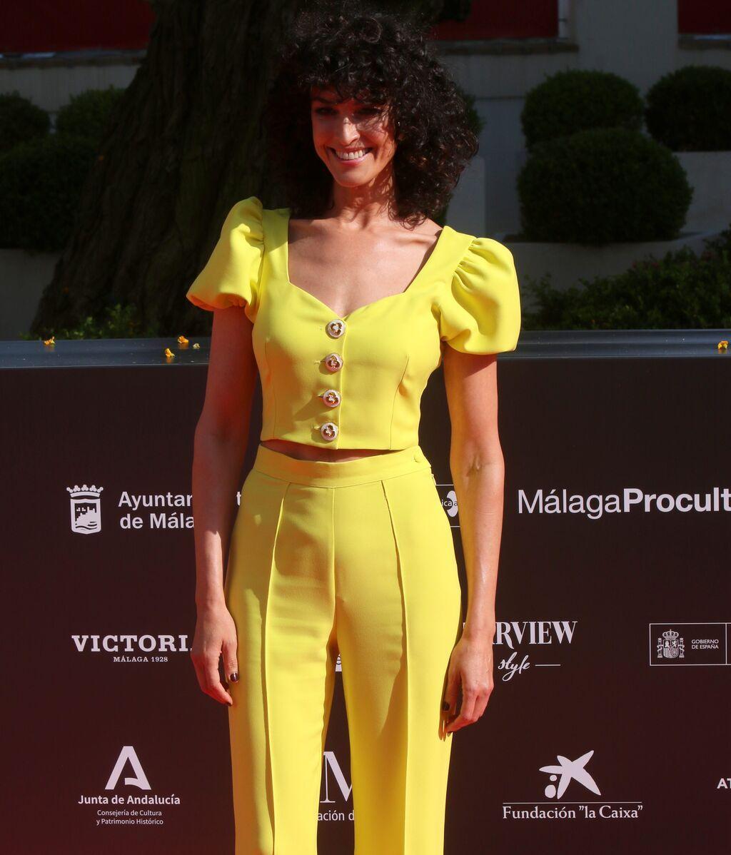 Blanca Romero, en el Festival de Málaga