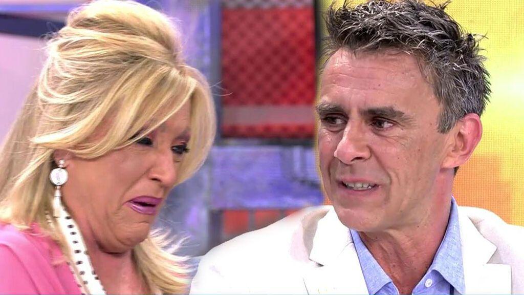 Alonso Caparrós sorprende a su mujer y Lydia Lozano rompe a llorar