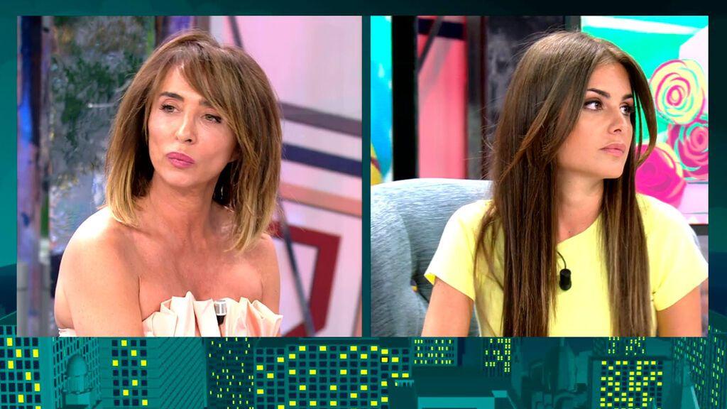 El tenso reencuentro de María Patiño y Alexia Rivas Viernes Deluxe 2021 Programa 645