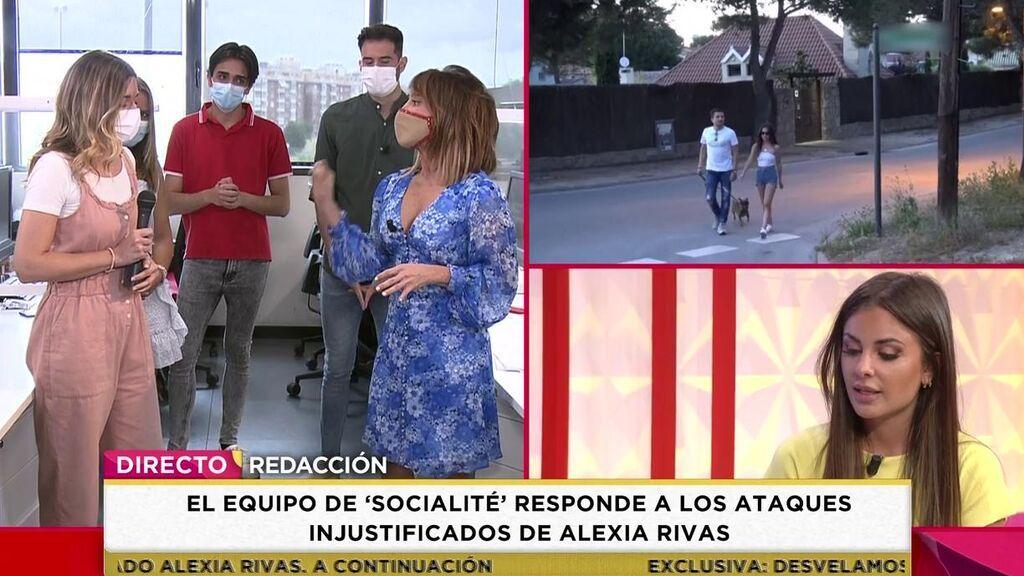 Hablan los excompañeros de Alexia Rivas