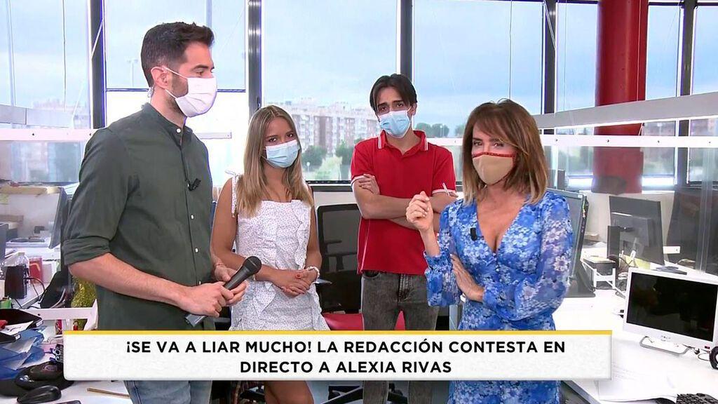Los excompañeros de Alexia Rivas reaccionan y responden a su entrevista Socialité 2021 Programa 459