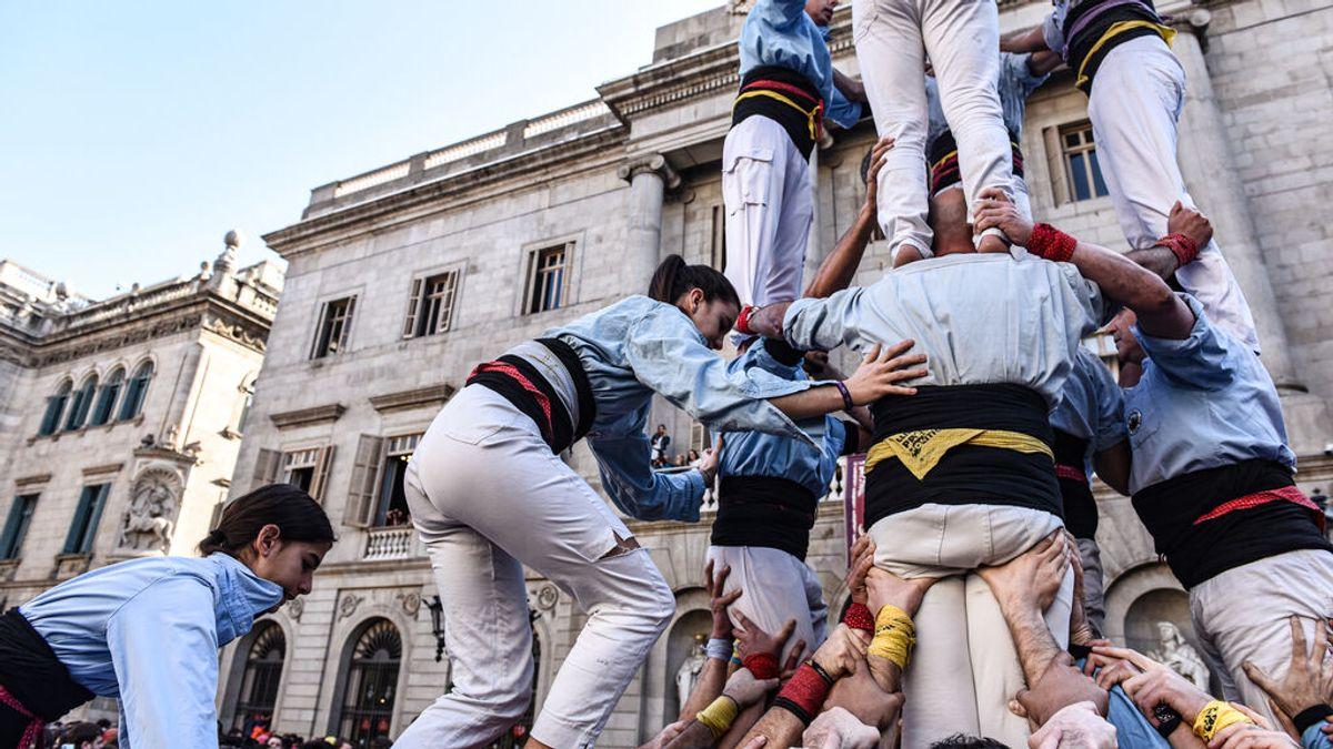Cataluña prepara un ensayo clínico para celebrar una jornada 'castellera'