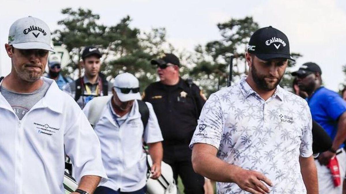 El golfista español Jon Rahm, positivo por coronavirus en plena exhibición en el Memorial Tournament
