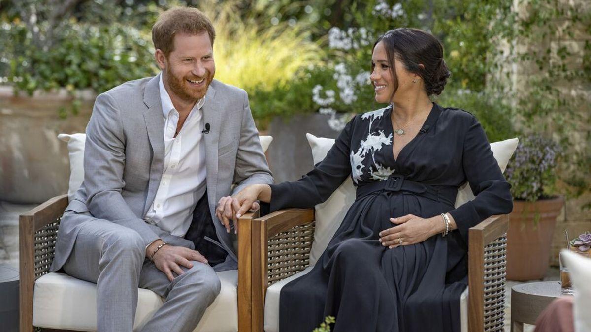 Harry y Meghan anuncian el nacimiento de su hija, con nombre en honor a la reina y Diana