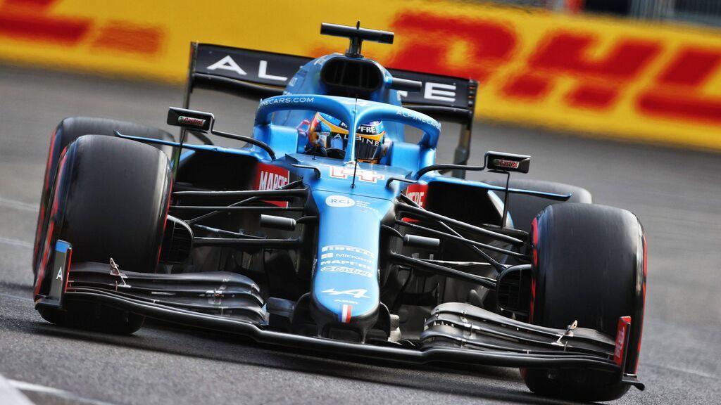 """Fernando Alonso da el secreto de su gran resalida en Bakú: """"Llevamos mucho tiempo trabajando en ello"""""""