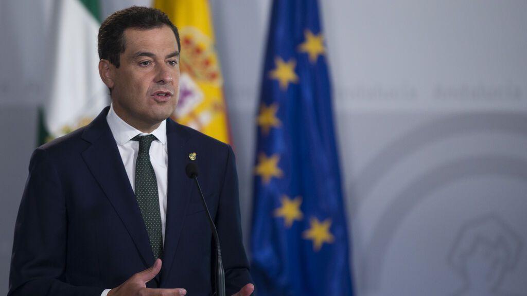 Juanma Moreno supera el Covid y retoma su actividad pública