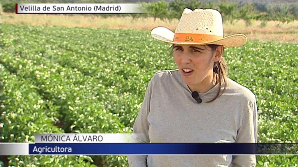 El cambio de vida de Mónica: con dos licenciaturas, se hizo agricultora hace ocho años