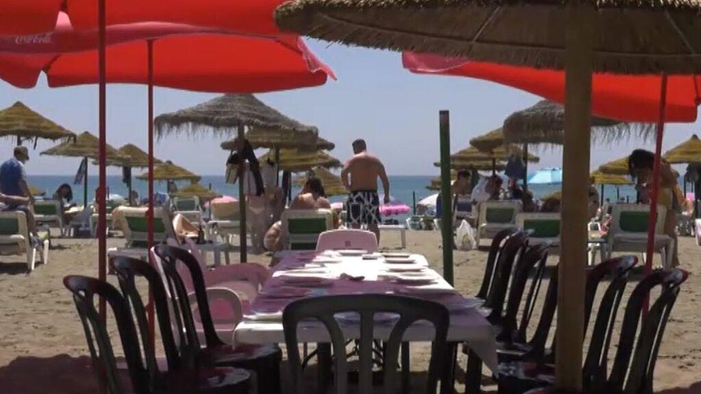 Desolación en la Costa del Sol por la falta de turistas británicos