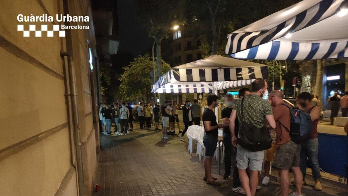 Desalojan a 185 personas de un local de Barcelona que triplicaba el aforo permitido