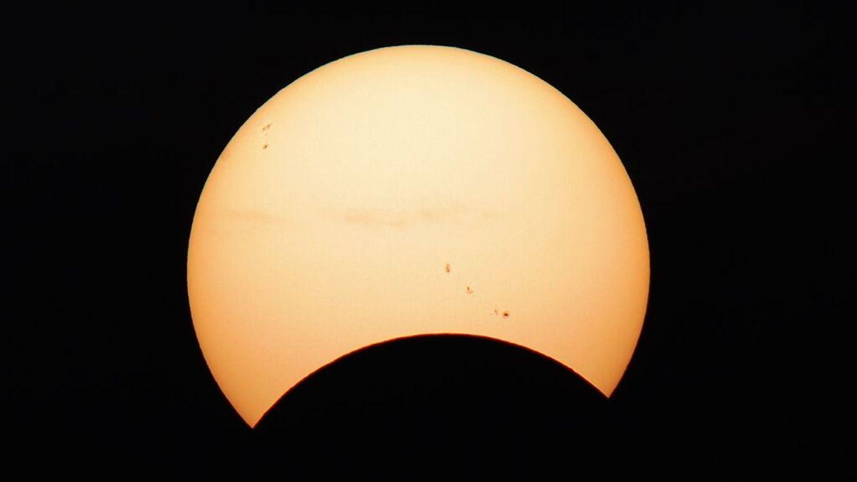 El eclipse anular de Sol del próximo miércoles podrá verse desde España de forma parcial
