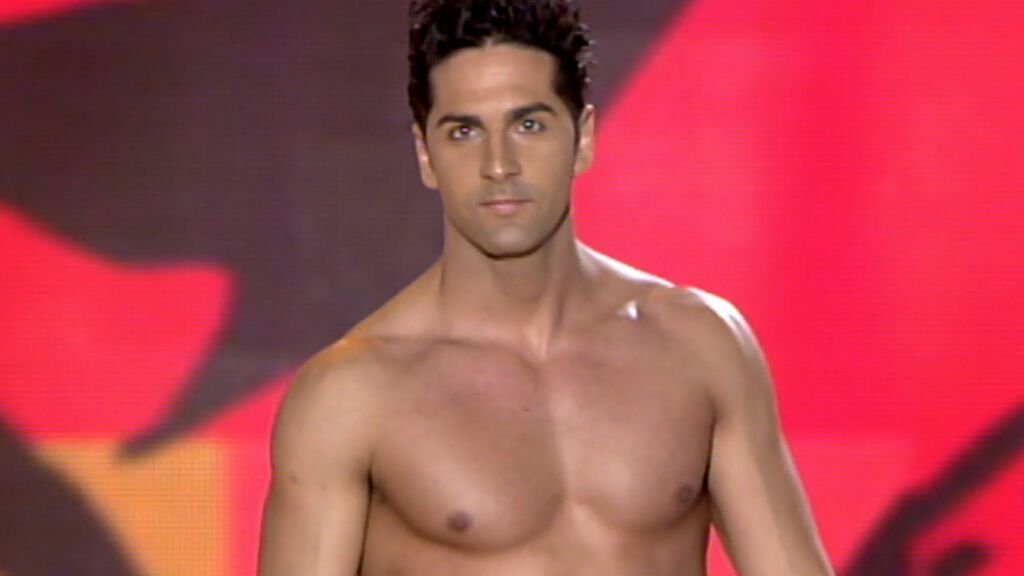 Victorio Alba participando en 'Míster España 2005'