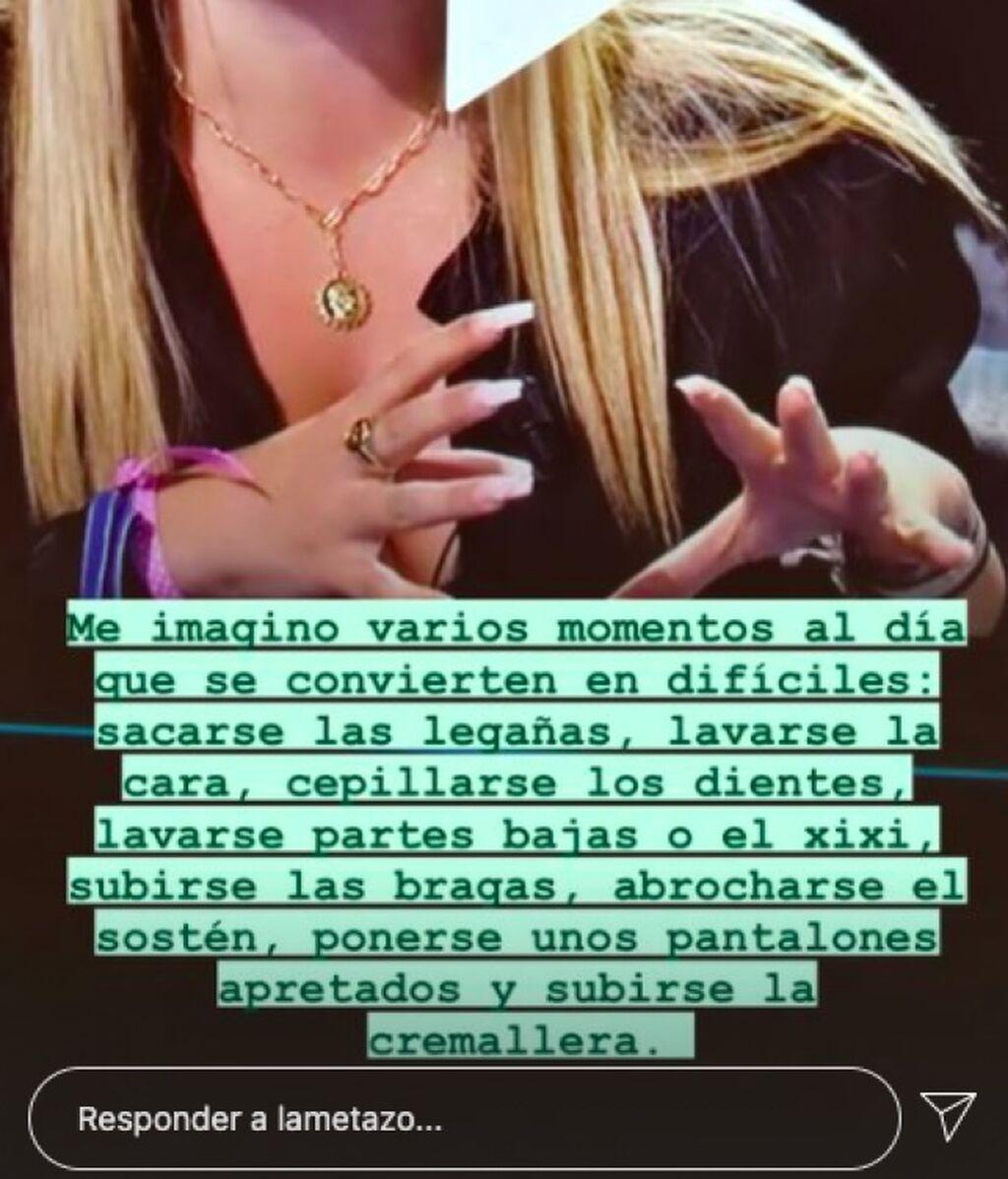 Comentario de Mercedes Milá sobre Rocío Flores