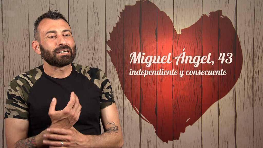 Miguel Ángel, en First Dates