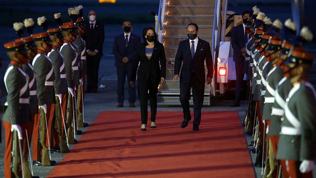 Harris llega a Guatemala para atajar la crisis migratoria