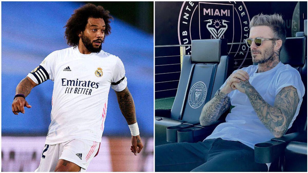 Beckham estaría interesado en fichar a Marcelo.