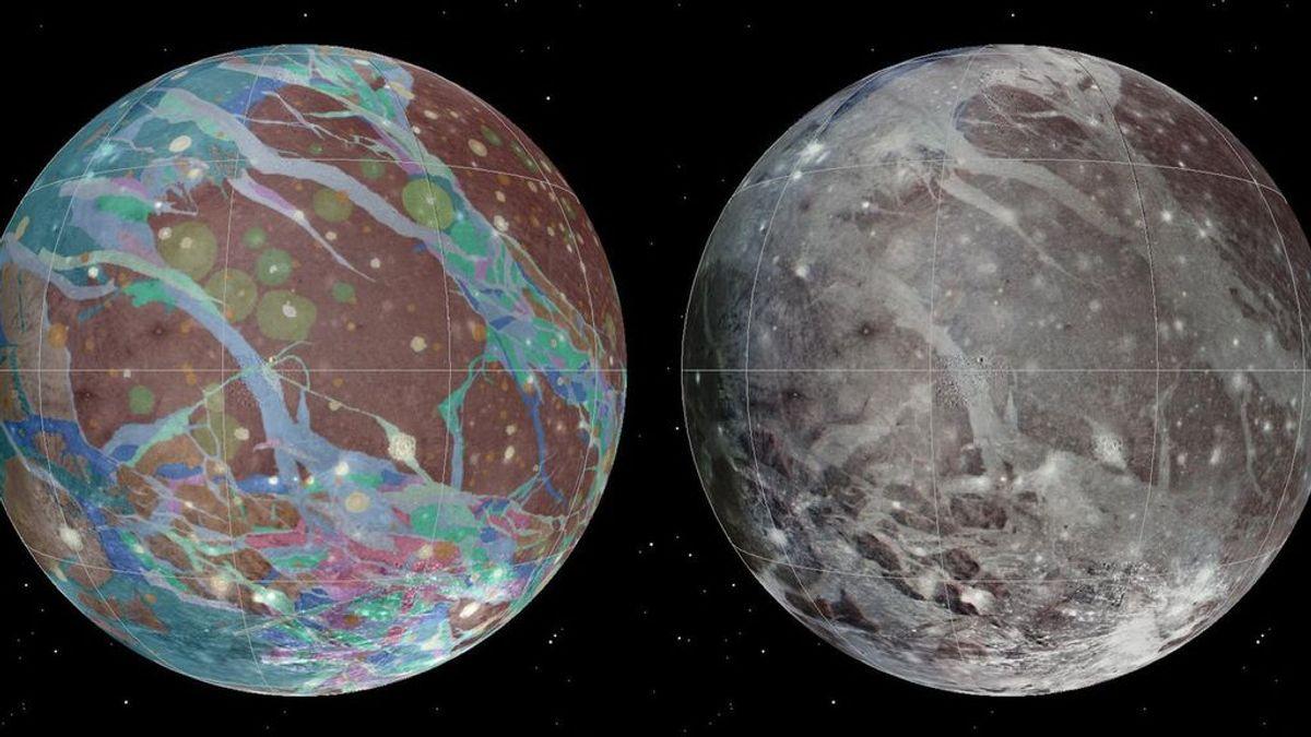 El satélite Juno de la NASA observará de cerca Ganímedes, la luna más grande del sistema solar