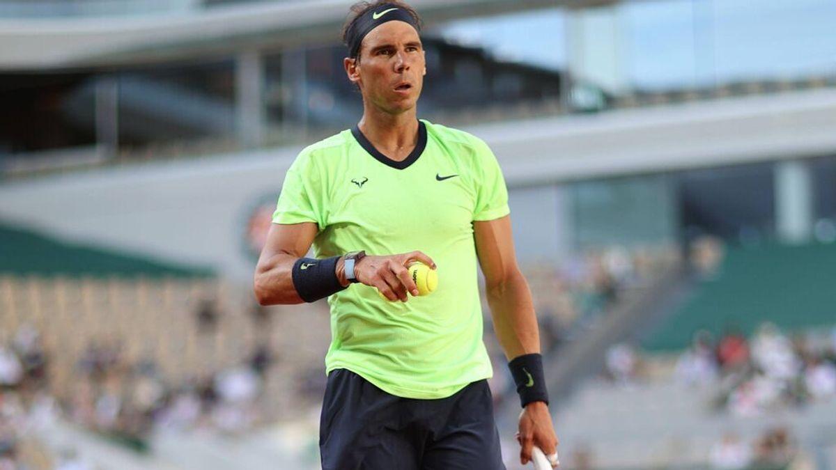 Rafa Nadal se clasifica para cuartos de Roland Garros tras vencer a Sinner (7-5, 6-3, 6-0)