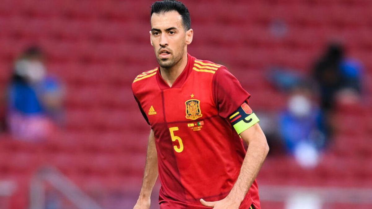 El positivo de Busquets compromete a la selección española en la Eurocopa