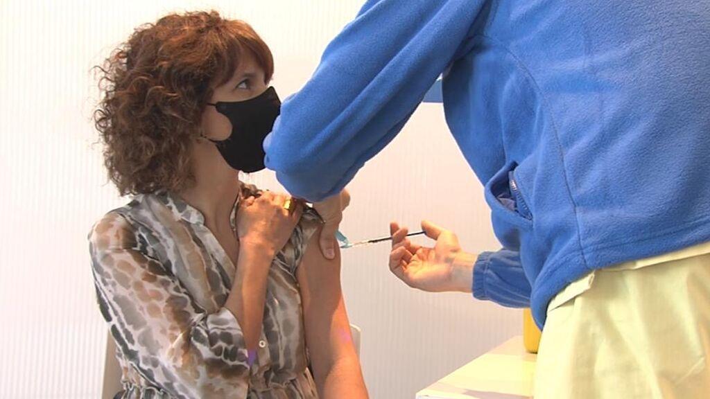 Navarra se une a las comunidades que empiezan a vacunar a las personas de entre 40 y 49 años