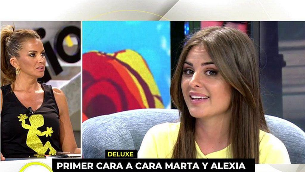 "Marta López, sobre Alexia Rivas: ""Me quedo tranquila porque reconoció que mintió para proteger a Adolfo"""