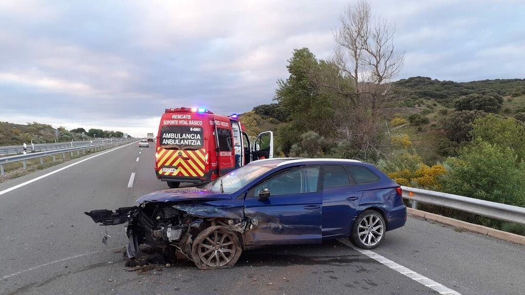 Mueren 14 personas en un fin de semana negro en las carreteras: entre ellas, seis motoristas y  un peatón