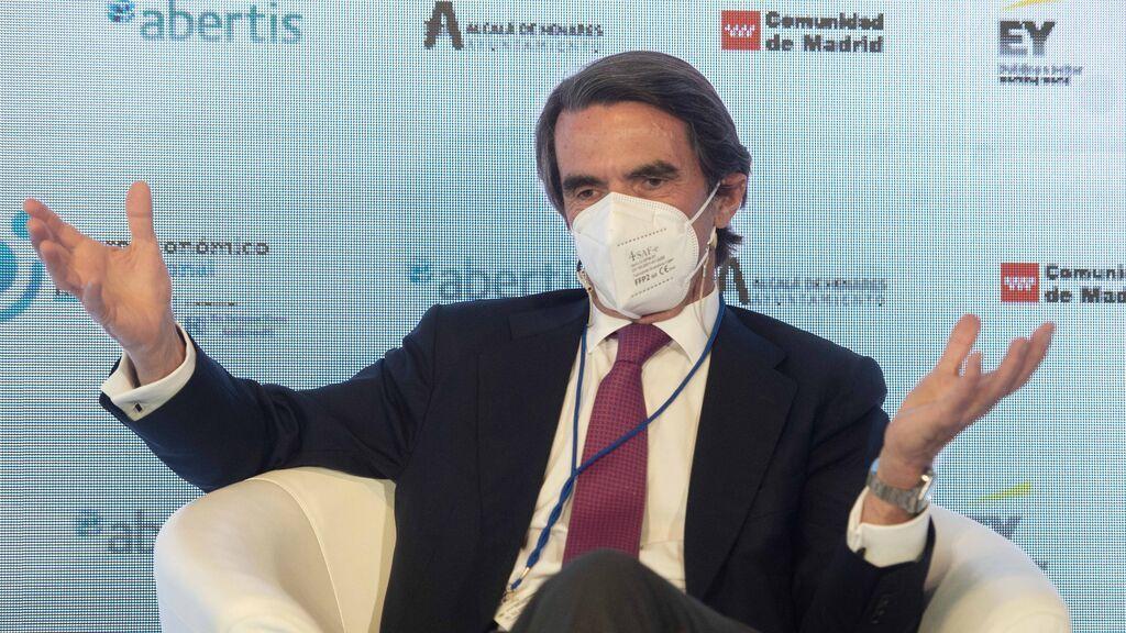 """Aznar alerta que los indultos a los 'presos del procés' son """"el suicidio político de la nación"""""""