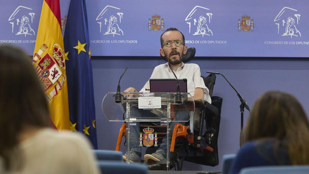 Podemos denunciará al presidente de Murcia y a García Egea por mediar en una operación quirúrgica de un familiar