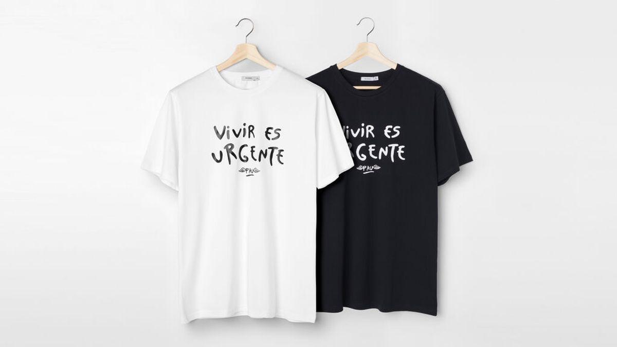 """El mensaje de la camiseta solidaria de Pau Donés, para apoyar la investigación del cáncer: """"Vivir es urgente"""""""