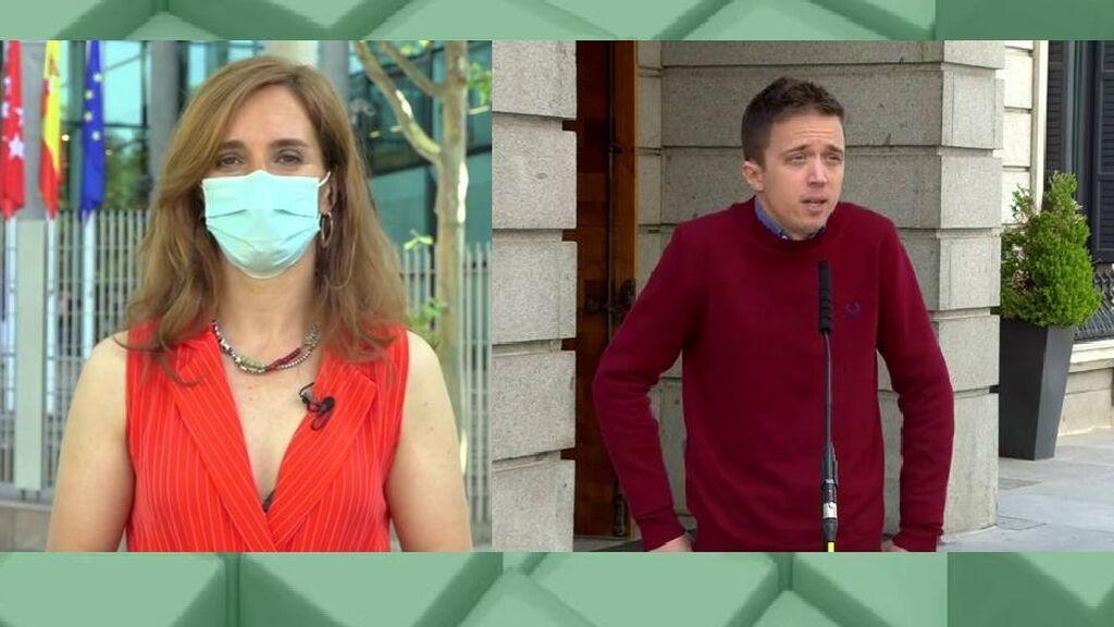 Mónica García sobre la agresión de Errejón a un hombre de 67 años