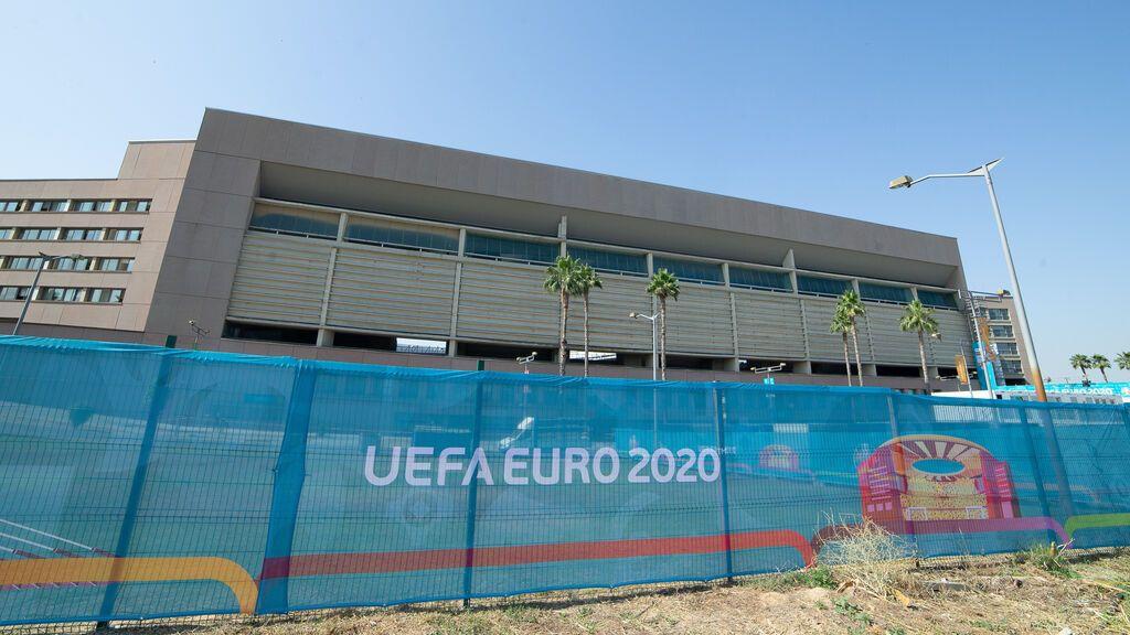 Más de 1.700 agentes velarán por la seguridad de Sevilla y La Cartuja durante la Eurocopa