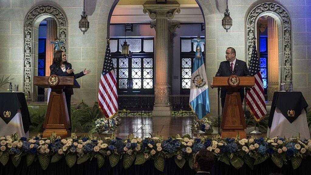 """Kamala Harris exhorta a los inmigrantes en Guatemala: """"no vengan, no vengan a Estados Unidos"""""""