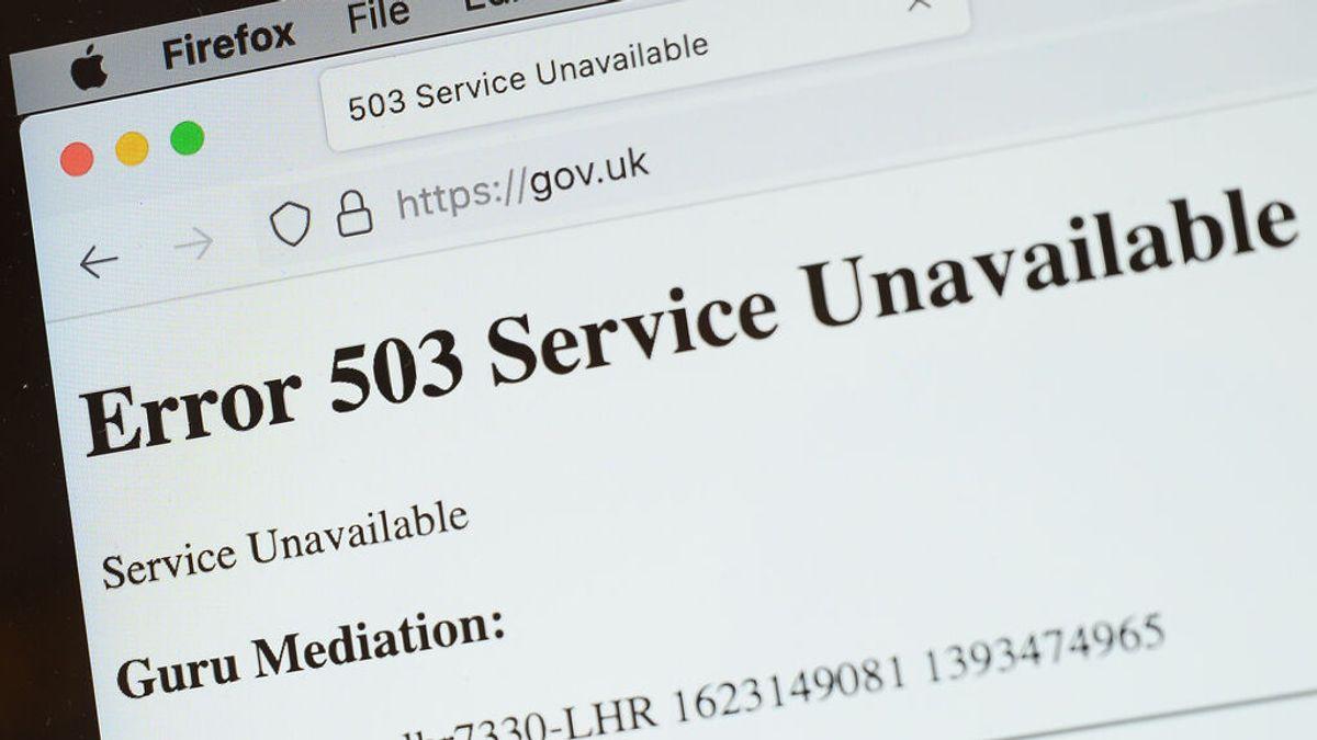 Un fallo del servidor Fastly provoca la caída de multitud de webs en todo el mundo