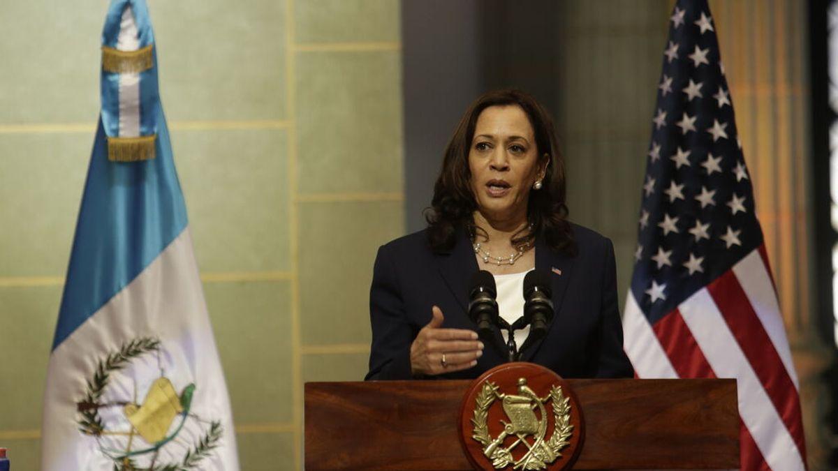 """Las duras declaraciones de Kamala Harris sobre la migración en Guatemala: """"No vengan a Estados Unidos"""""""