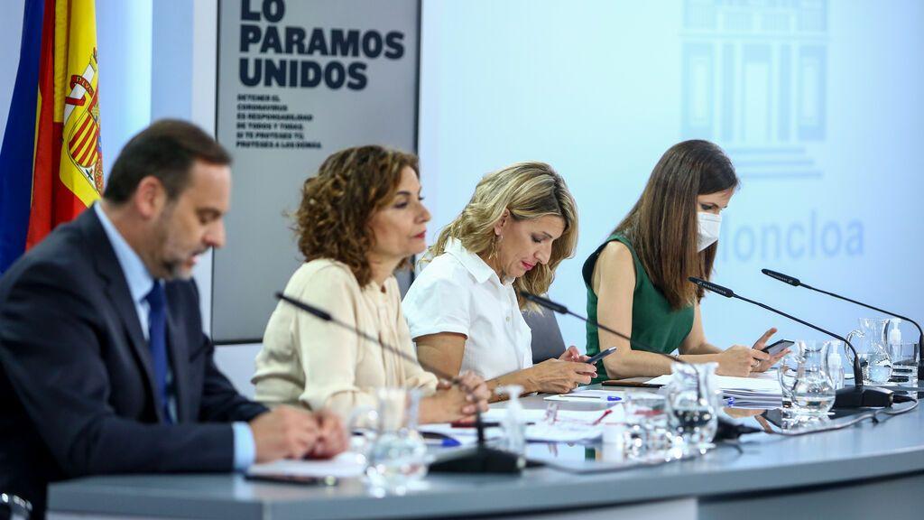 """El Gobierno sobre el referéndum al que aspira ERC: """"Los españoles saben los límites"""""""