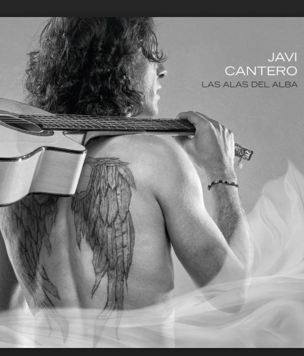 Javi Cantero, en la portada de Alas de Alba