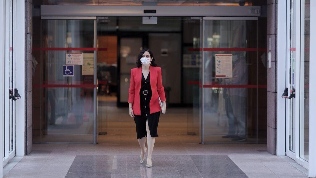 """Isabel Díaz Ayuso """"no echa de menos"""" a Ciudadanos en la Asamblea de Madrid"""