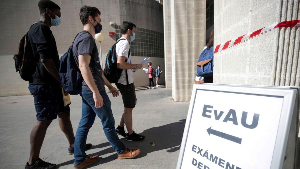 Las carreras con mayor número de solicitudes tras finalizar los exámenes de la EVAU