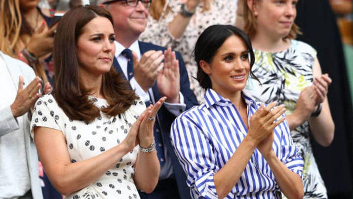"Las llamadas secretas de Meghan Markle a Kate Middleton para ""suavizar las cosas"""