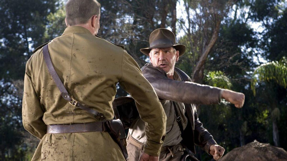Vuelven los nazis y Harrison Ford: Se filtran imágenes del rodaje de Indiana Jones 5