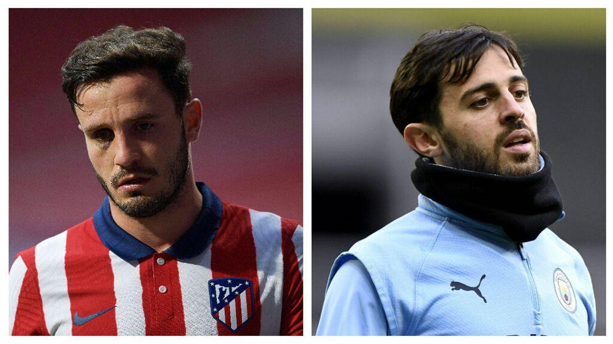 Saúl por Bernardo Silva el cambio con el que sueña el Atlético de Madrid