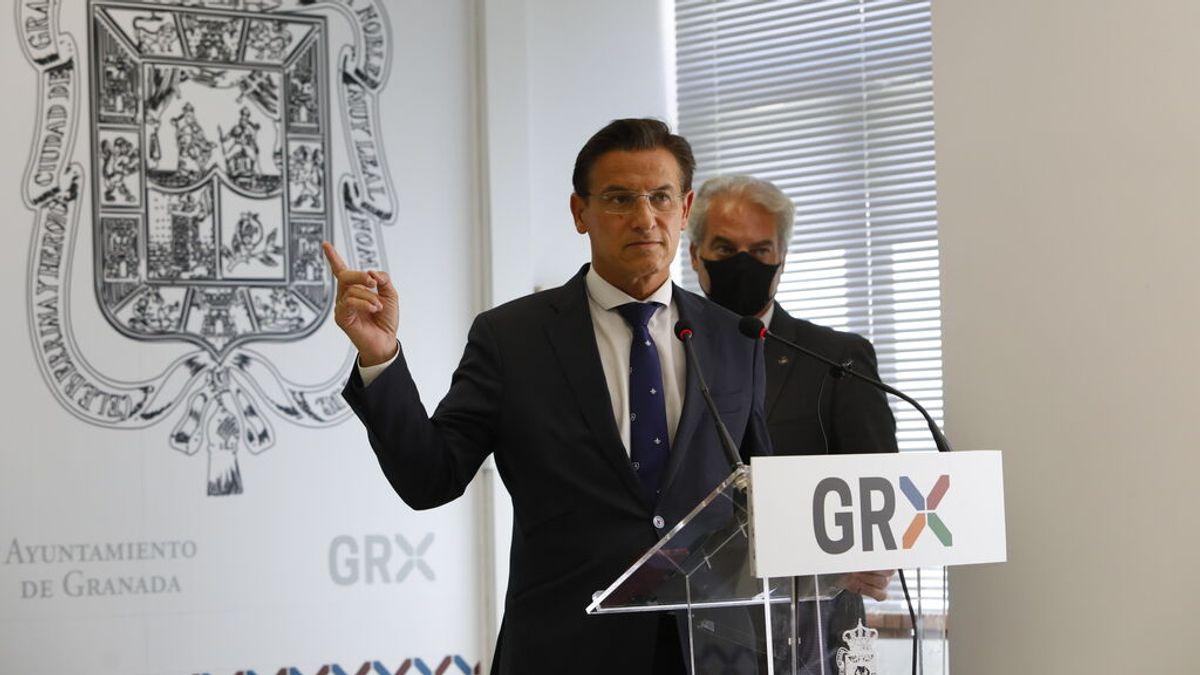 """Luis Salvador, alcalde de Granada: """"Digo al PP que esperaremos a que recapaciten y vuelvan a sus responsabilidad que han abandonado"""""""