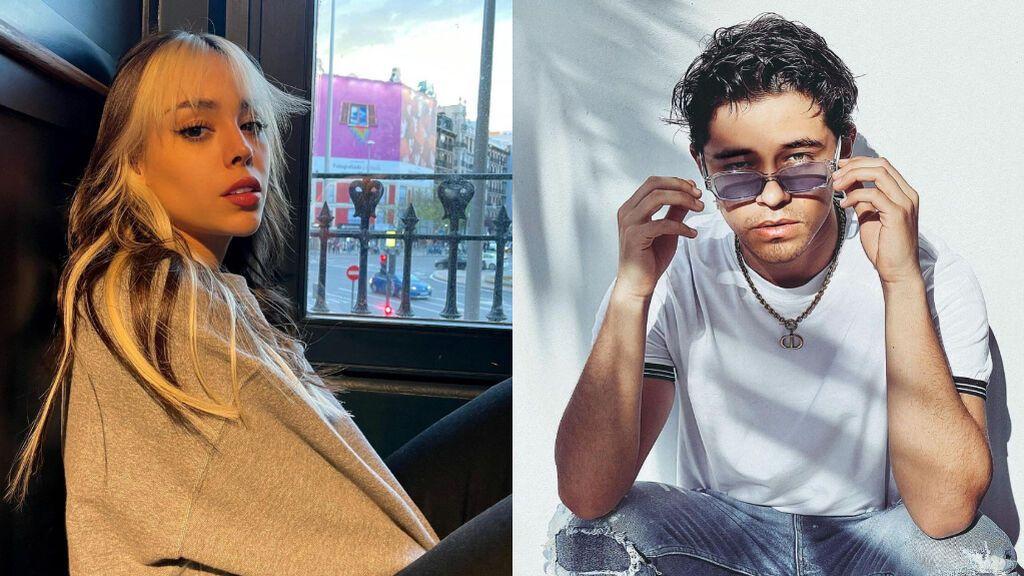Danna Paola habla por primera vez de su relación con el cantante Alex Hoyer tras sus románticas fotos en Ibiza
