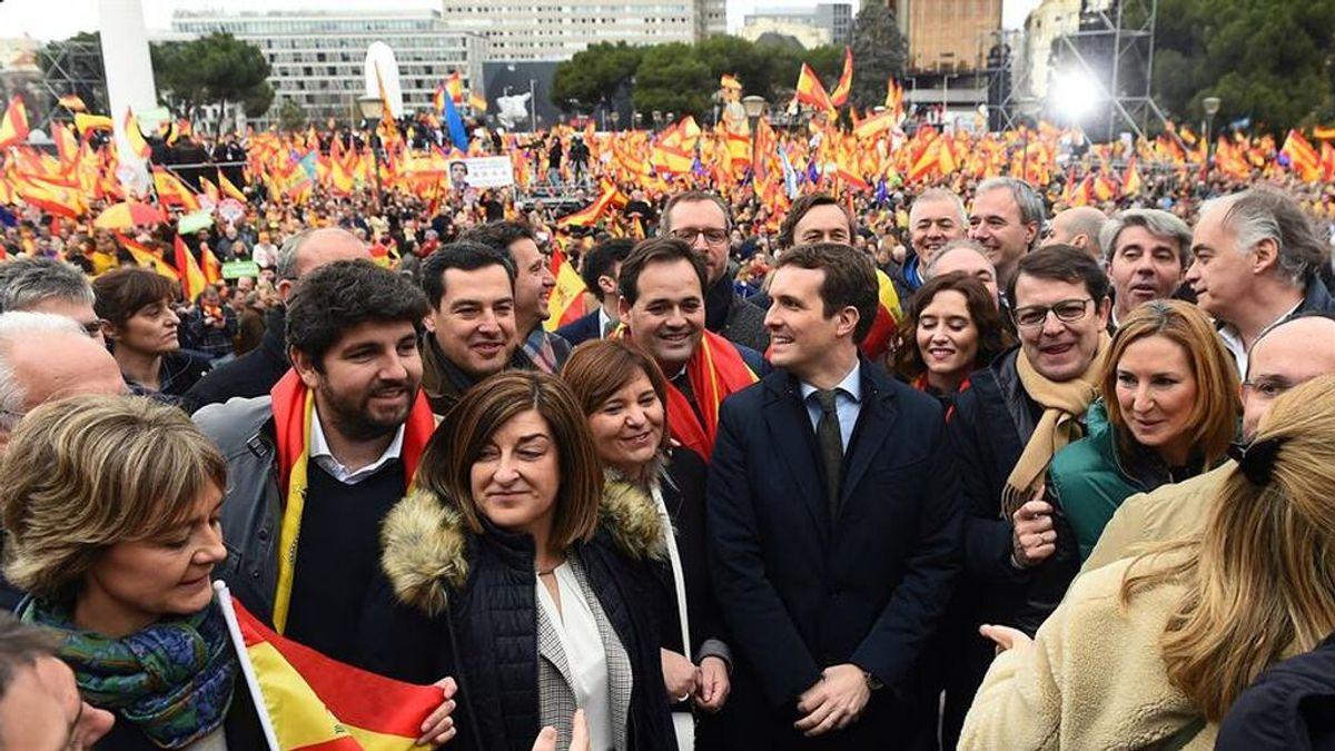 El PP rebaja su entusiasmo por Colón: ni autobuses ni movilización masiva de sus militantes