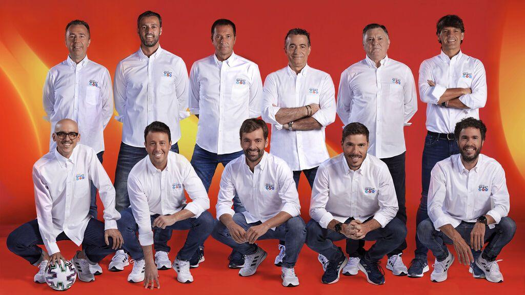 Equipo para la Euro2020 de Mediaset