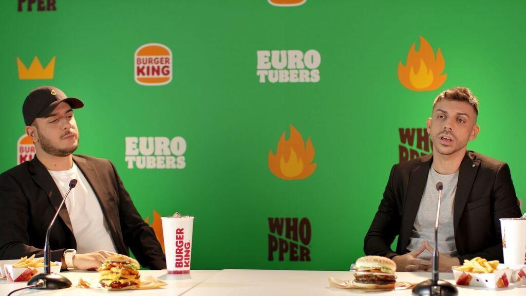 Robert PG y DjMario, en el vídeo de presentación de 'Eurotubers'.
